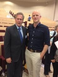 R.H. Lustig met Robert de Vos